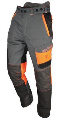 Comfy Lumberjack Trousers—Grey/Orange SOL-COPAGR
