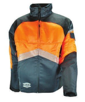 Authentic Work Jacket—Grey/Orange SOL-AUVE