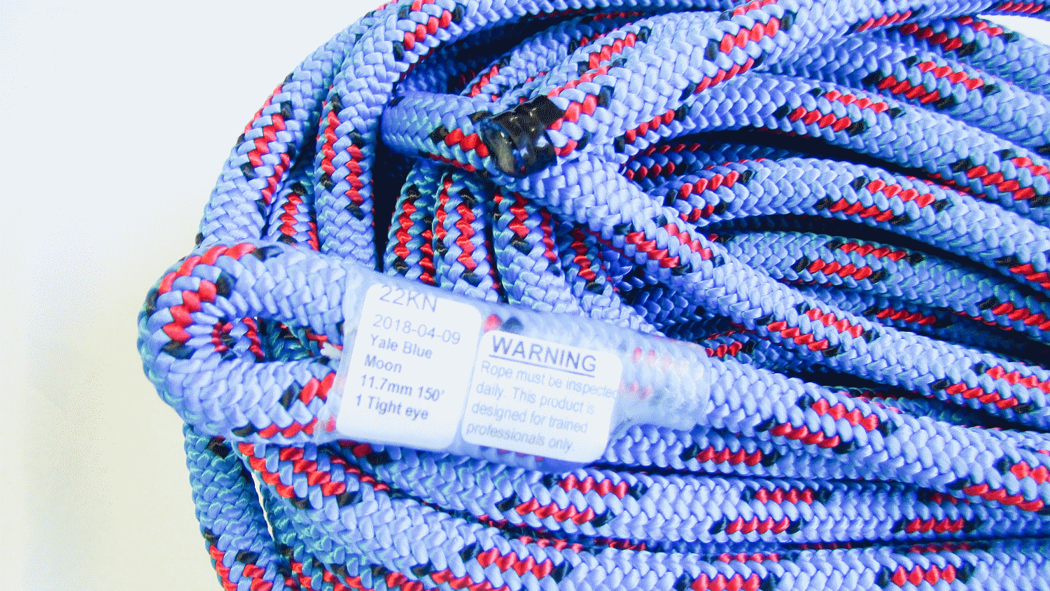 Blue Moon Climbing Rope with Tight Eye