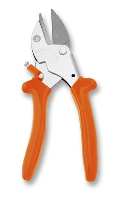 LÖWE 5.127 Small ergonomic anvil pruner with pointed blade