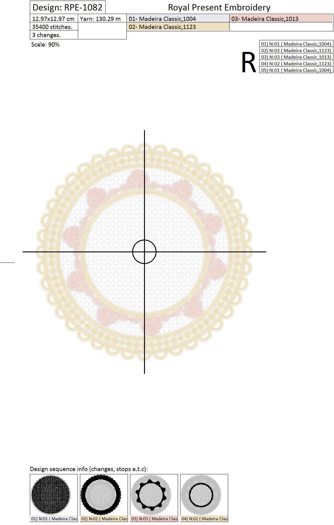 Дизайн машинной вышивки для салфеток FSL кольцо-держатель для монограммы