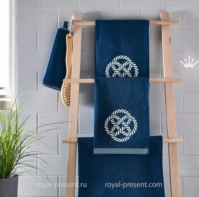 Дизайн машинной вышивки Морской узел - 5 размеров