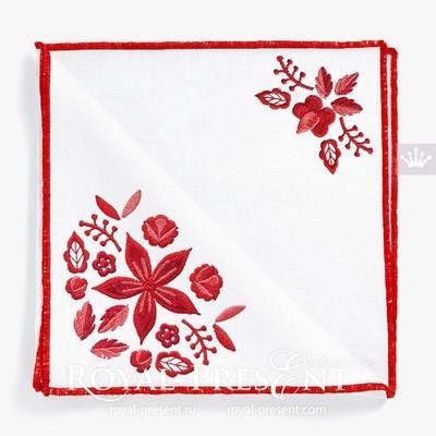 Набор дизайнов машинной вышивки  Польский фольклор - 2 размера
