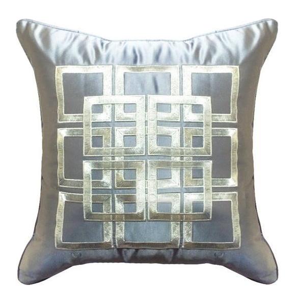 Дизайн машинной вышивки Элемент для графического орнамента на декоративную подушку RPE-788