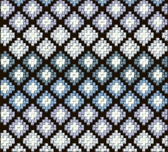 Дизайн машинной вышивки Графика в стиле барджелло RPE-468
