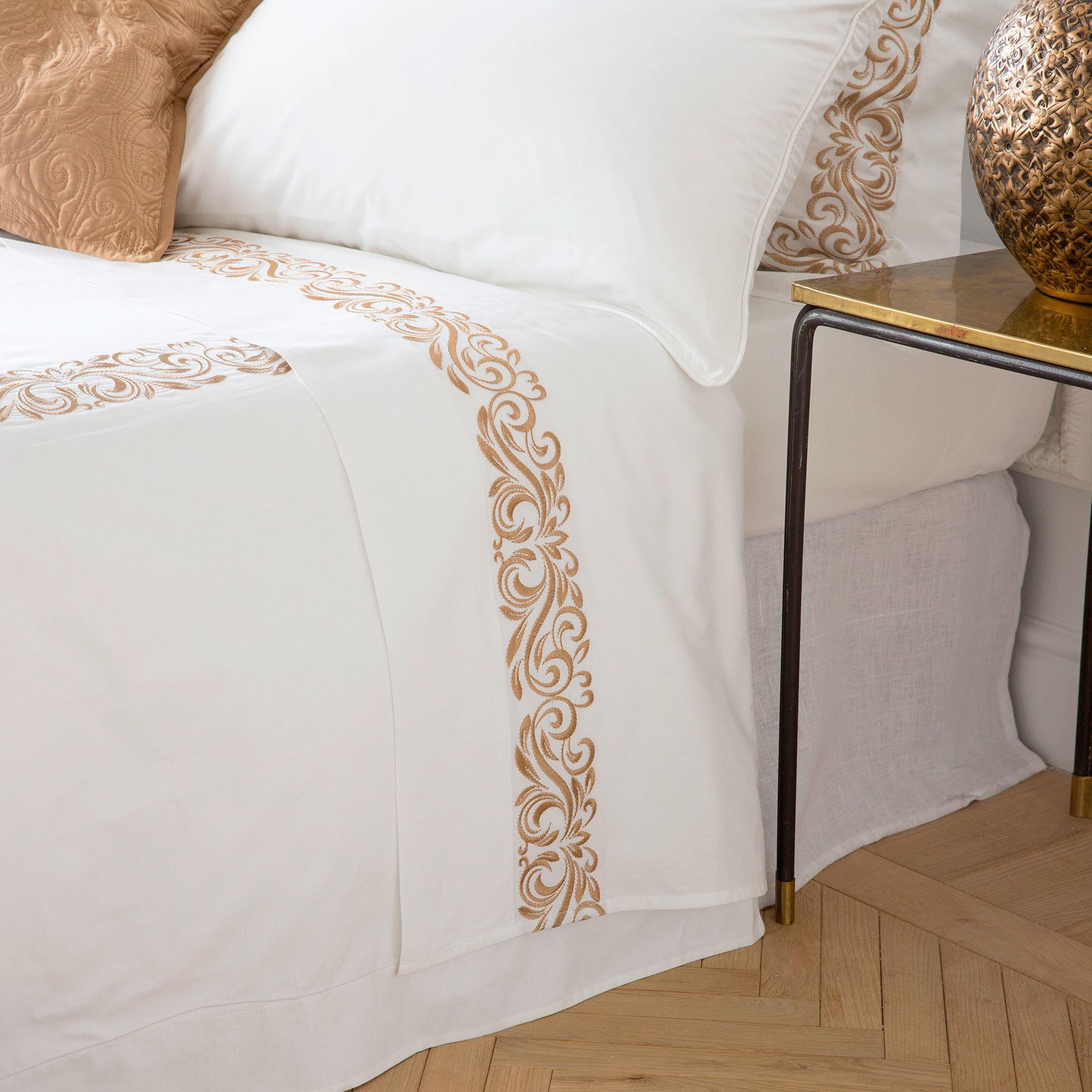 Классический бордюр для белья дизайн машинной вышивки RPE-549