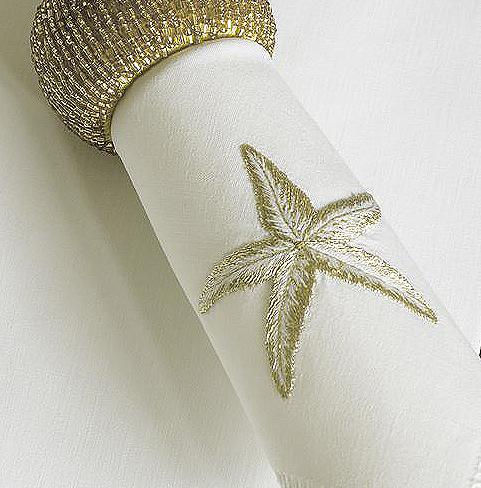 Дизайн машинной вышивки Морская звезда
