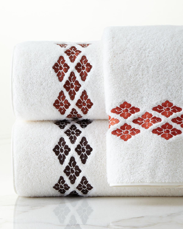 Дизайн машинной вышивки Узор для полотенец RPE-1012