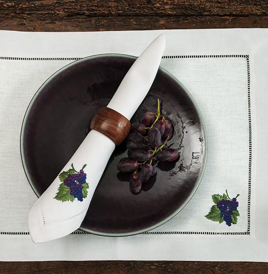 Дизайн машинной вышивки  Гроздь винограда RPE-552
