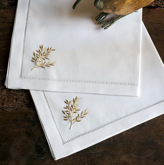 Дизайн машинной вышивки Золотые листья RPE-1043