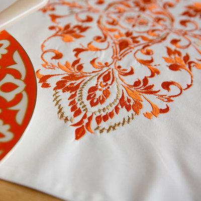 Дизайн машинной вышивки Восточный орнамент
