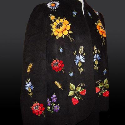 Дизайны машинной вышивки Ягодки и цветочки
