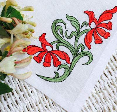 Дизайн для машинной вышивки - Орхидеи