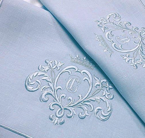 Дизайн машинной вышивки Вензель для монограммы | 3D