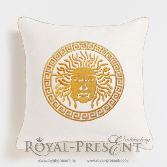 Дизайн для декоративной подушки Медуза Горгона RPE-095
