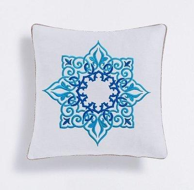 Дизайн машинной вышивки Персидский круглый орнамент
