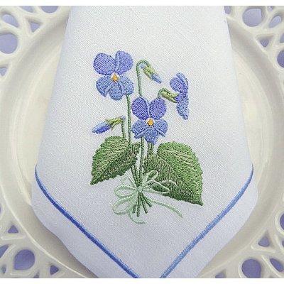 Дизайн для машинной вышивки Букет Фиалок