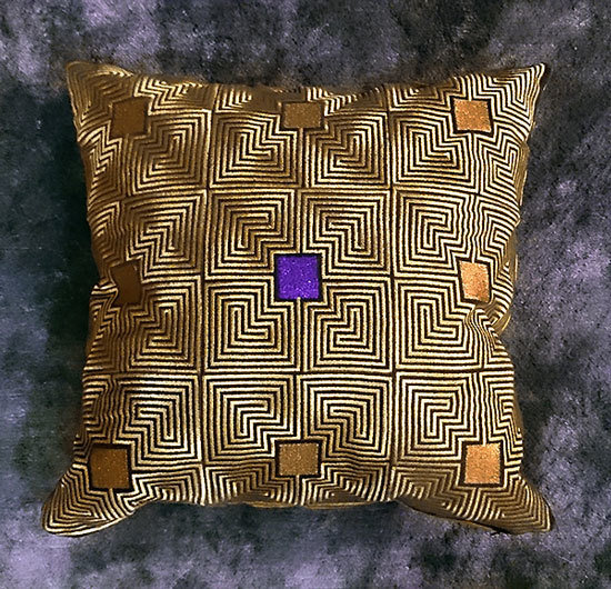 Дизайн машинной вышивки для квилта Арт Деко RPE-951
