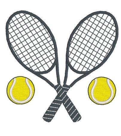 Дизайн машинной вышивки Теннисные ракетки RPE-809