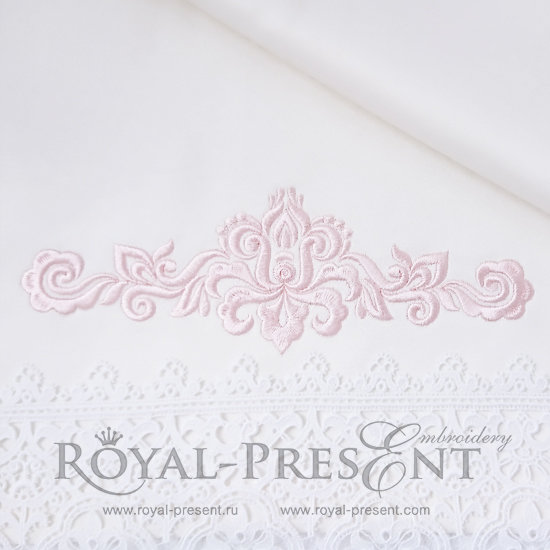 Дизайн машинной вышивки Абстрактный Элегантный декор - 3 размера RPE-1183-01