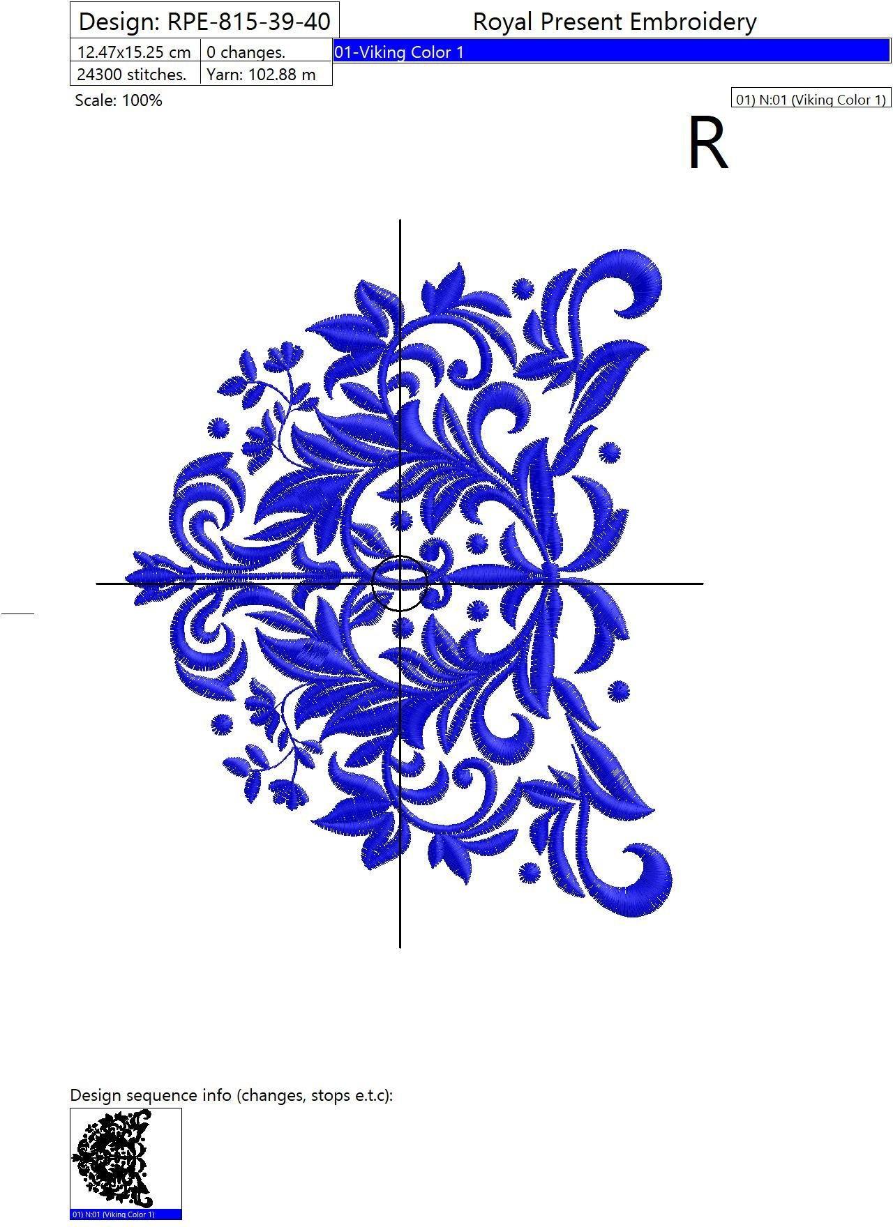Дизайн машинной вышивки Элегантные тапочки Эспадрильи - 5 размеров