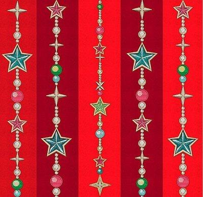 Дизайны машинной вышивки Новогодние гирлянды - 3 в 1