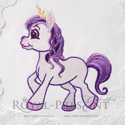 Дизайн машинной вышивки Мой Маленький Пони - 4 размера