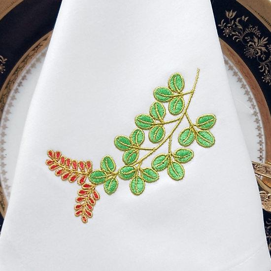 Дизайн машинной вышивки Акация