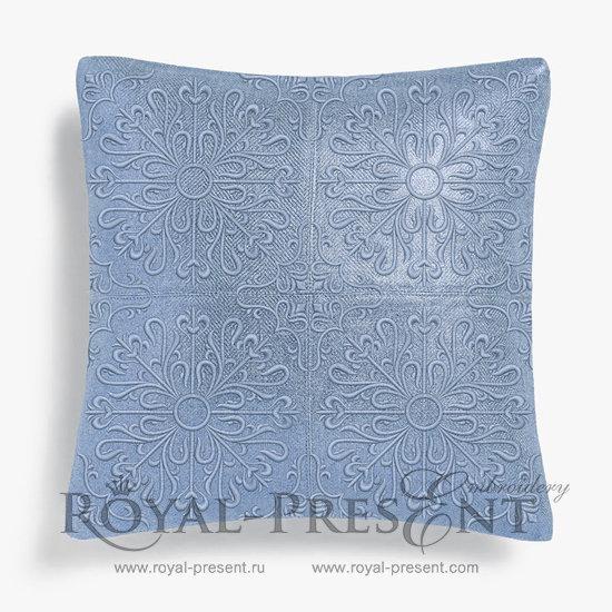 Дизайн для машинной вышивки Арабеска - 4 размера RPE-554
