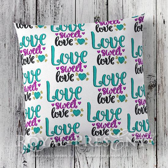 Дизайн машинной вышивки бесплатно Сладкая любовь RPE-1032