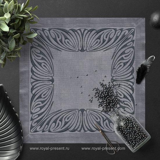 Дизайн для машинной вышивки Арт нуво - 2 размера PRE-509
