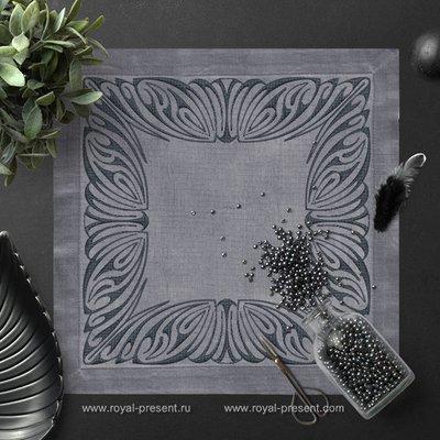 Дизайн для машинной вышивки Арт нуво - 2 размера
