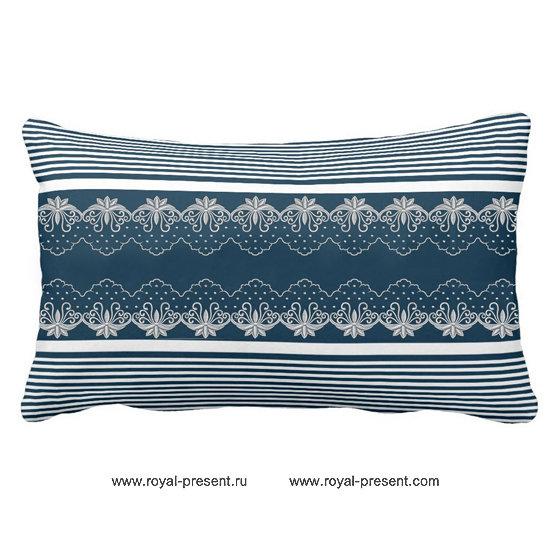 Дизайн машинной вышивки Декоративный элемент RPE-602