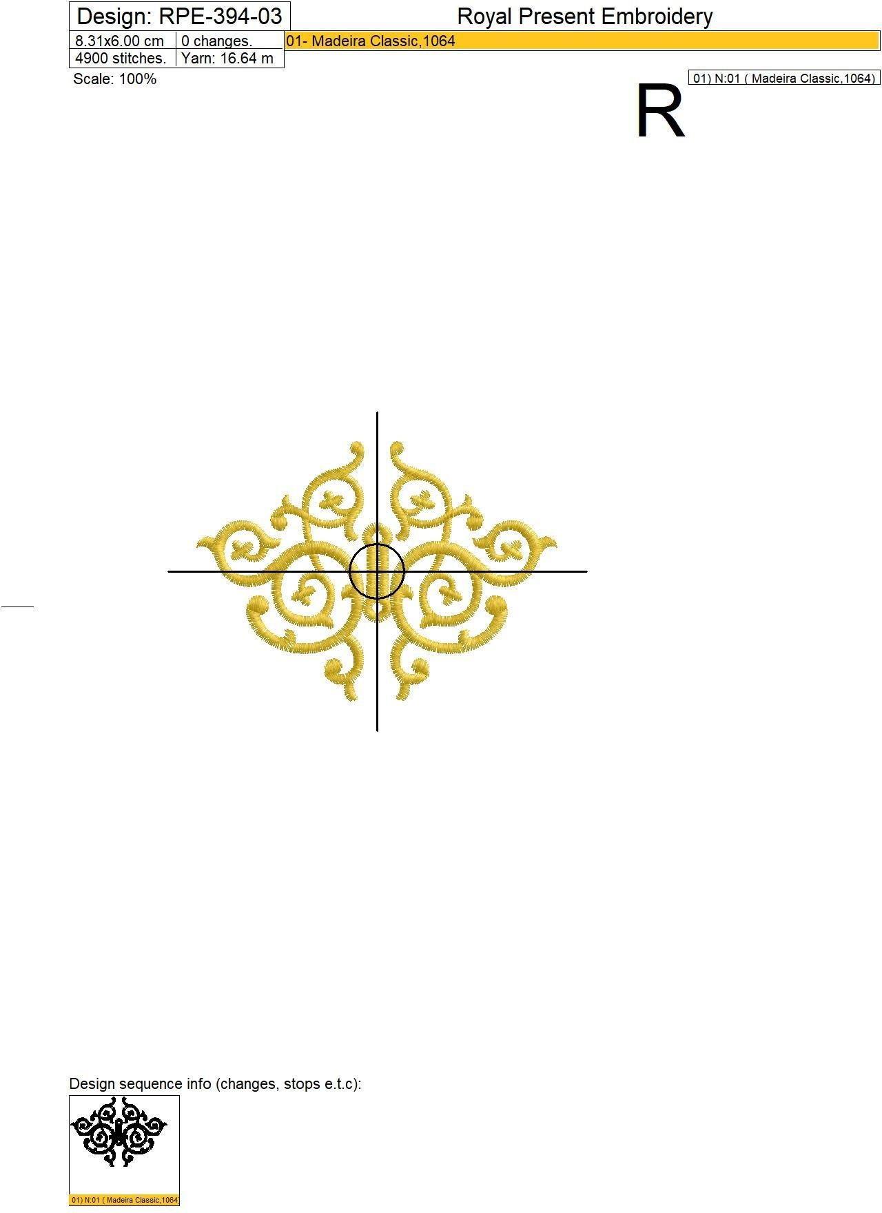 Набор дизайнов для обработки прорезей для пуговиц