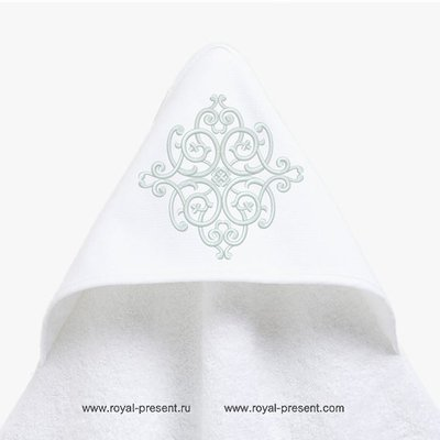 Дизайн машинной вышивки орнамент для уголка - 5 размеров