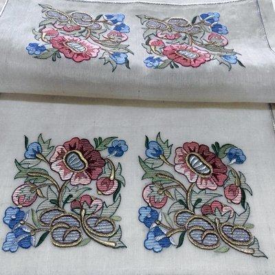 Бесплатный Дизайн для машинной вышивки Композиция из цветов