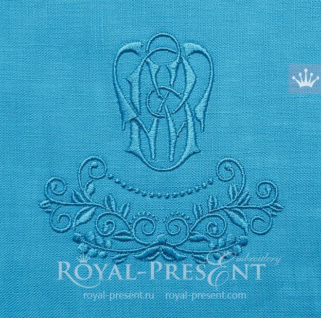 Бесплатный Дизайн машинной вышивки Ягодный элемент - 2 размера RPE-1439