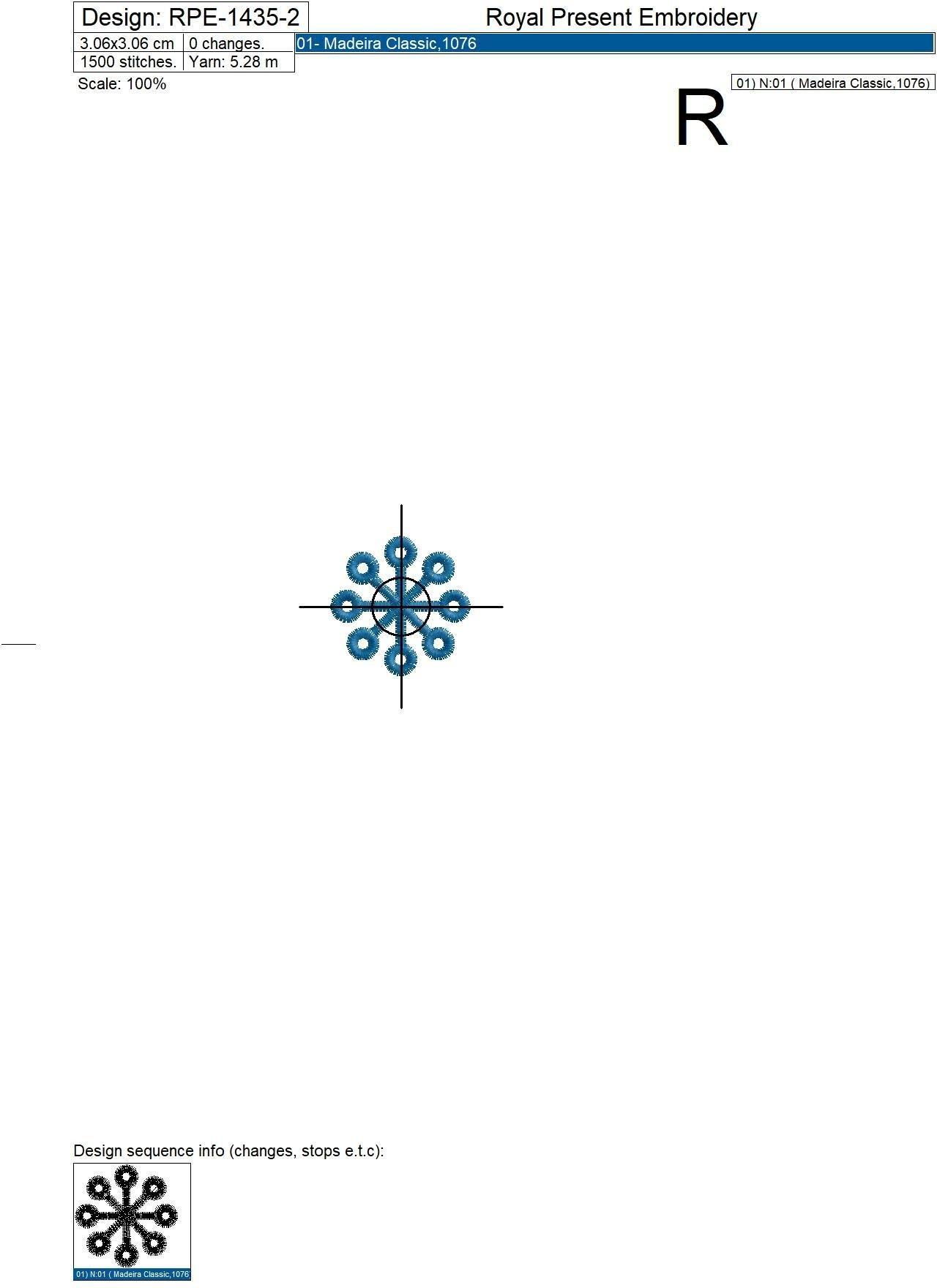 Дизайны машинной вышивки Скандинавские снежинки