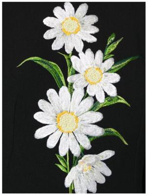 Дизайн машинной вышивки Букет Ромашек - 3 размера