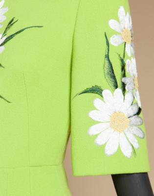 Дизайн машинной вышивки Ромашки садовые - 2 размера