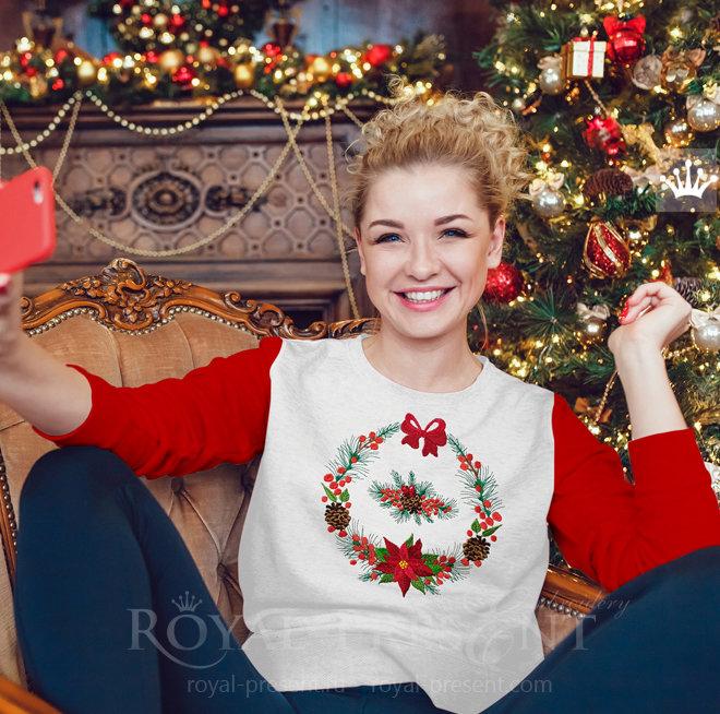 Набор Рождественских Дизайнов машинной вышивки RPE-1470_1
