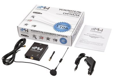 Комплект усиления сотового сигнала GSM в автомобиле 41001