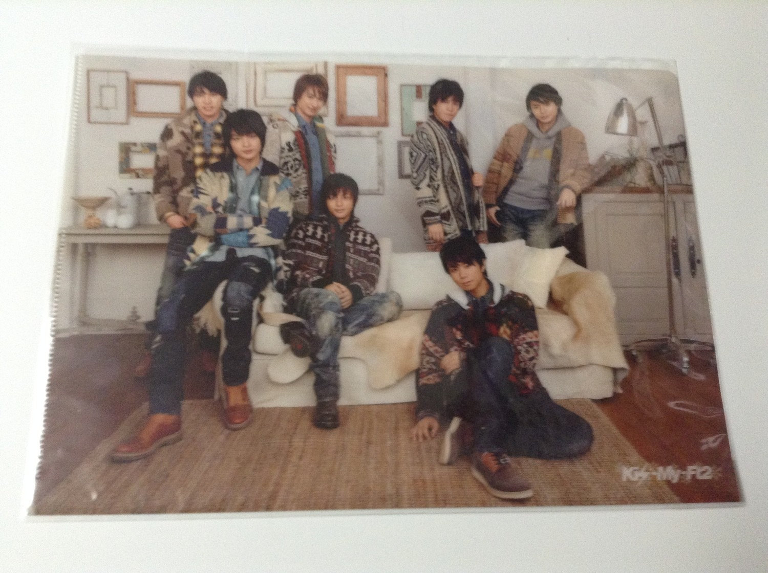 Kis-My-Ft2 Snow Dome Group Clearfile