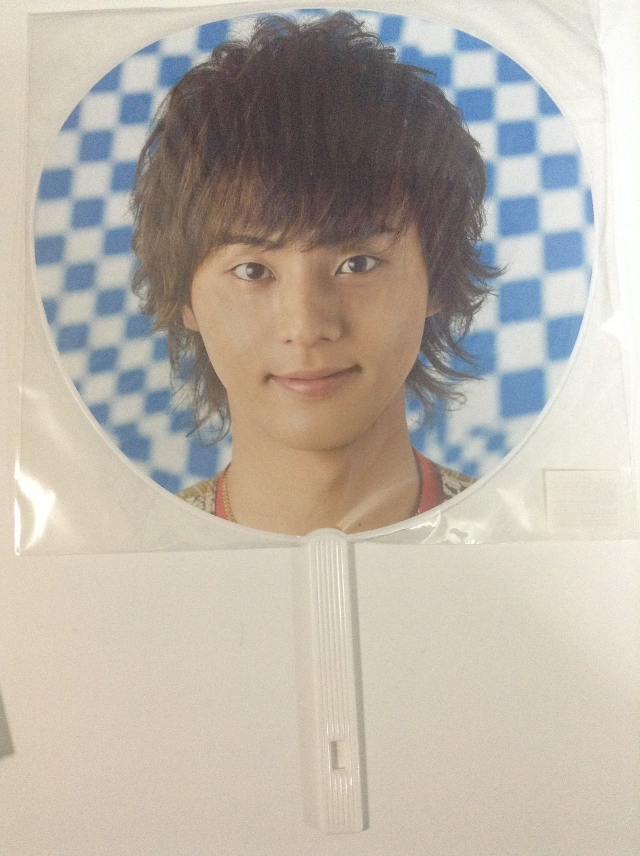 Kis-My-Ft2 Good Ikuze Tour 2013 Uchiwa Fujigaya