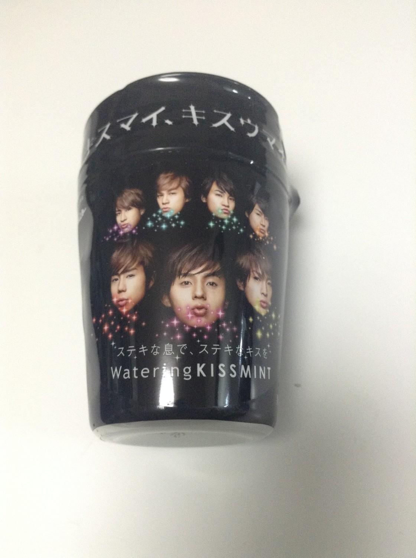 Kis-My-Ft2 Kissmint Promotional Case with Fruit Gum