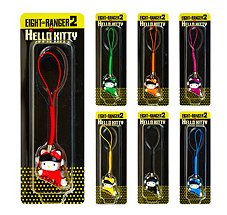 7-11 Eight Ranger 2 Hello Kitty Straps (Full Set)