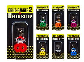 7-11 Eight Ranger 2 Hello Kitty Charms (Individual)
