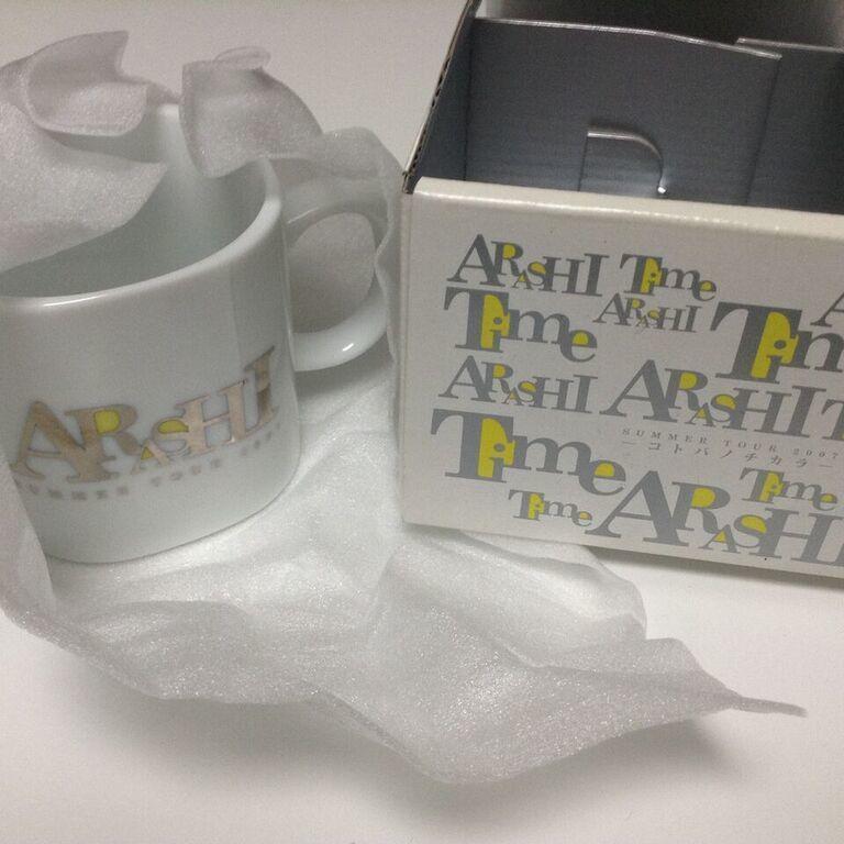 Arashi Time Concert Mug Cup *RARE*