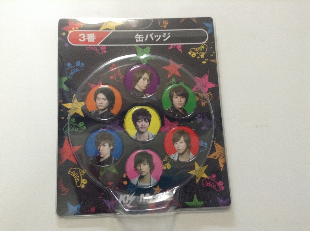 Kis-My-Ft2 7-11 Pinbadge Set