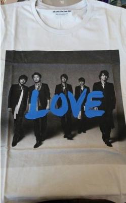 Arashi LOVE Tour Tshirt